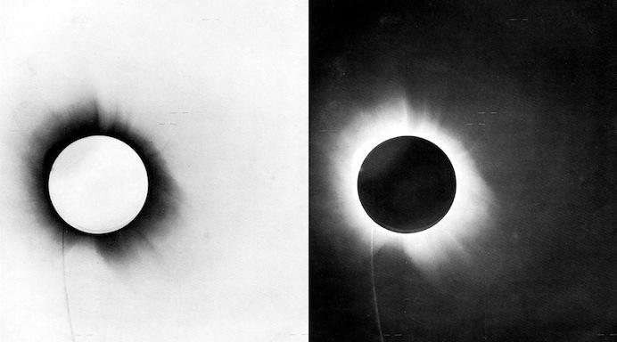eclissi 29 maggio 1919 neg pos